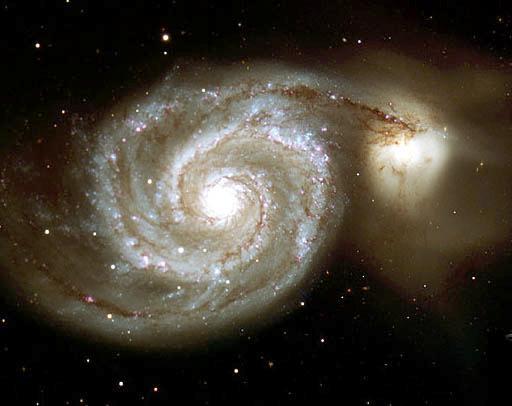 Млечный Путь - спиральная Галактика с поперечником в 100 тысяч световых лет.  Мы живем на окраине - в рукаве Ориона.