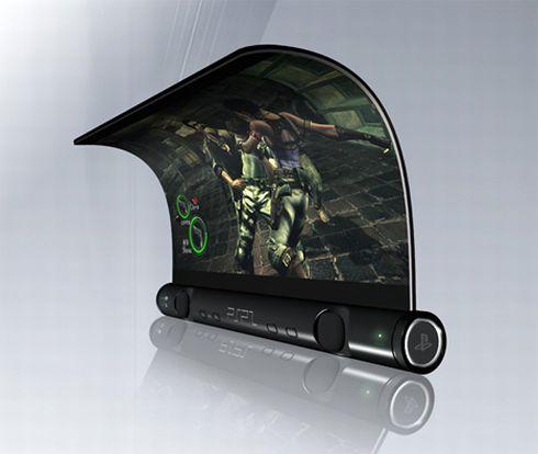 Возможно PSP2 будет выглядеть именно так!!!