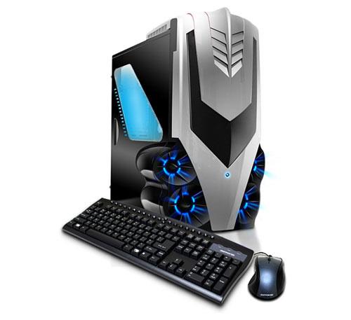 Мощные игровые компьютеры iBuyPower Paladin в дизайнерских корпусах