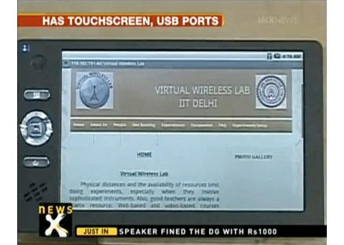 30-долларовый планшет из Индии – конкурент школьному ноутбуку OLPC XO-1