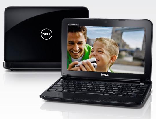 Dell отгружает 10,1-дюймовые Inspiron Mini 1018 в Европу