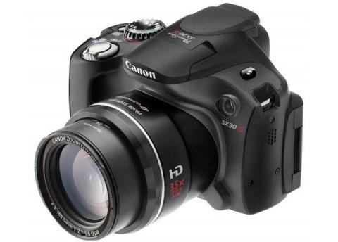PowerShot SX30 IS: новый фотоаппарат от Canon с 35-кратным зумом