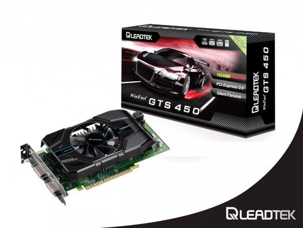 Leadtek WinFast GTS 450 Extreme: в два раза больше производительности