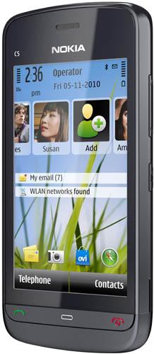 Начались продажи смартфона Nokia C5-03  3 декабря 2010, 1809