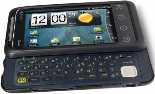 Слайдер HTC Shift 4G — релиз 9 января?