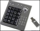 Новая беспроводная USB-клавиатура с трекболом