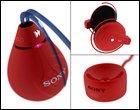 Zik MP3 Player - стильный плеер в красном корпусе
